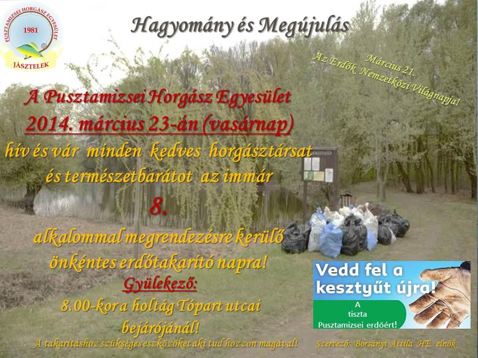 erdőtakarító nap_2014